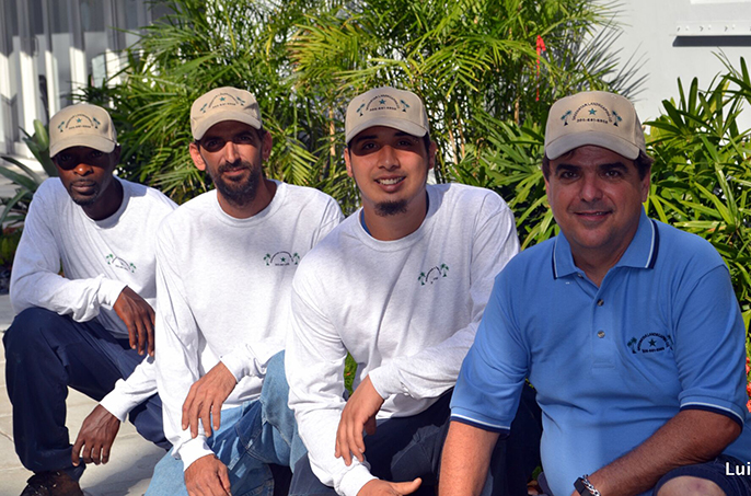 Greenstar landscaping team