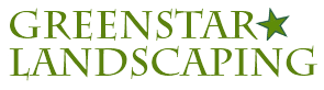 Greenstar Landscaping Company Text Logo
