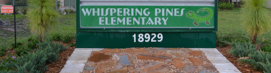 Volunteer Work at Whispering Pines Elementary